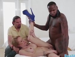 Real milf doggystyled in cuckold action