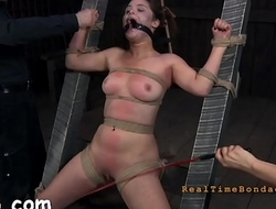 Intensive torment for girl