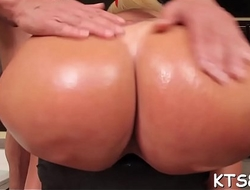 Shemale gets her ass pushed hard