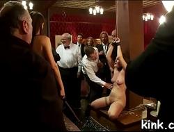 Public sex show