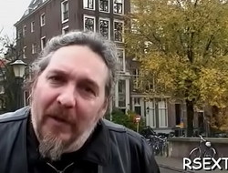 Man gets amsterdam service