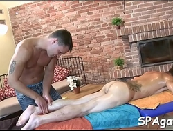Most good gay massage video