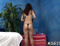 Tattooed masseuse gets wild