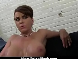 Monster black cock bangs my moms white pussy 16